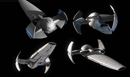 Sith Infiltrator model demo