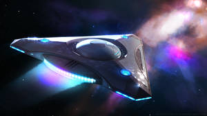 Lukari Science Vessel by Enterprise-E