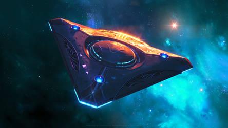 Lukari Science Vessel 2 by Enterprise-E