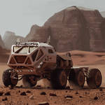Mars Rover from The Martian