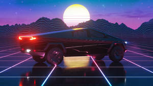 Cybertruck Neon 5K