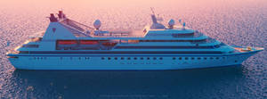 Seabourn Legend Sunset