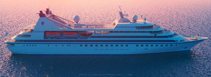 Seabourn Legend Sunset