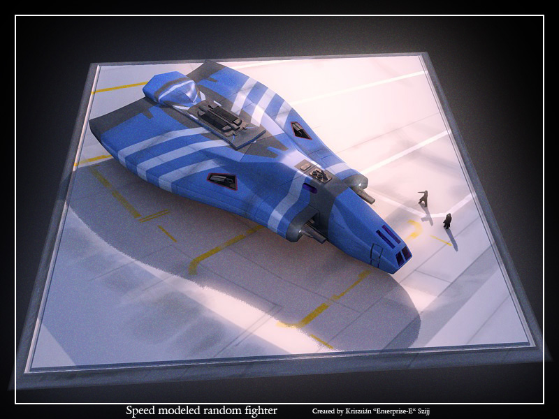 Speed modeled random fighter by Enterprise-E
