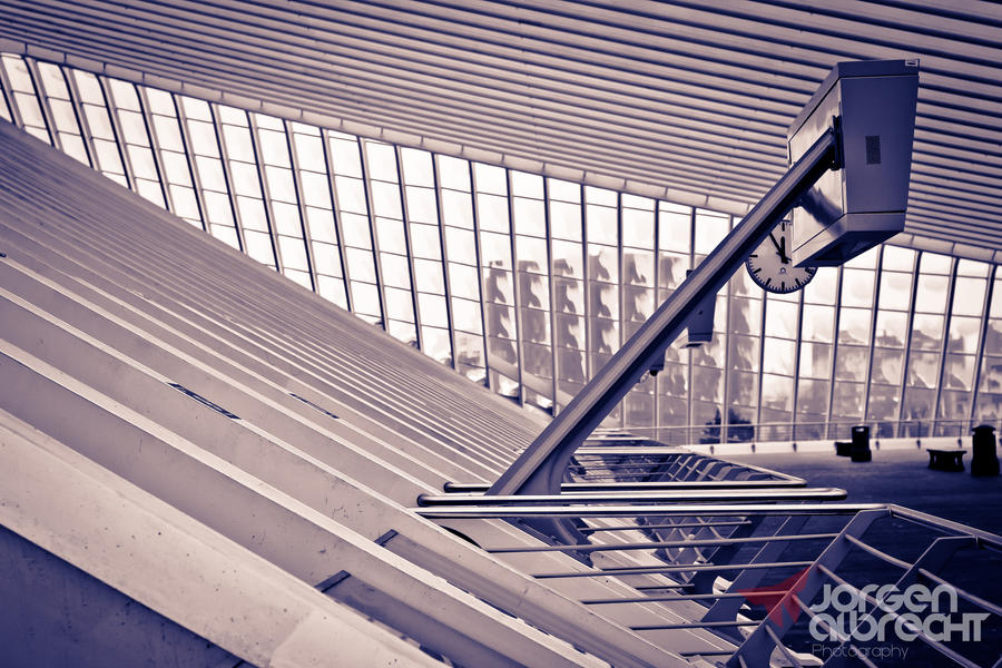 Trainstation Liege ( Belgium ) by iNternBe