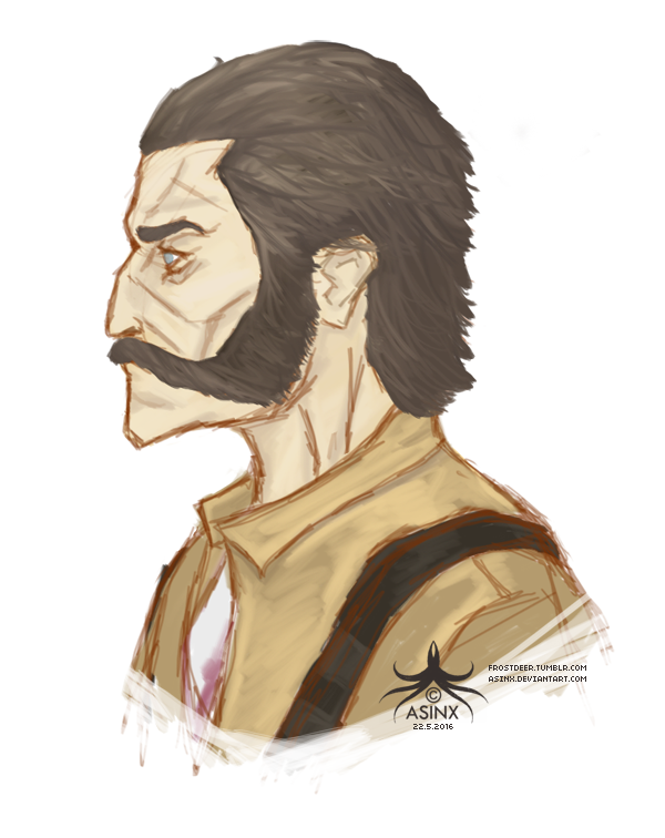 Slackjaw (Dishonored) by asinx