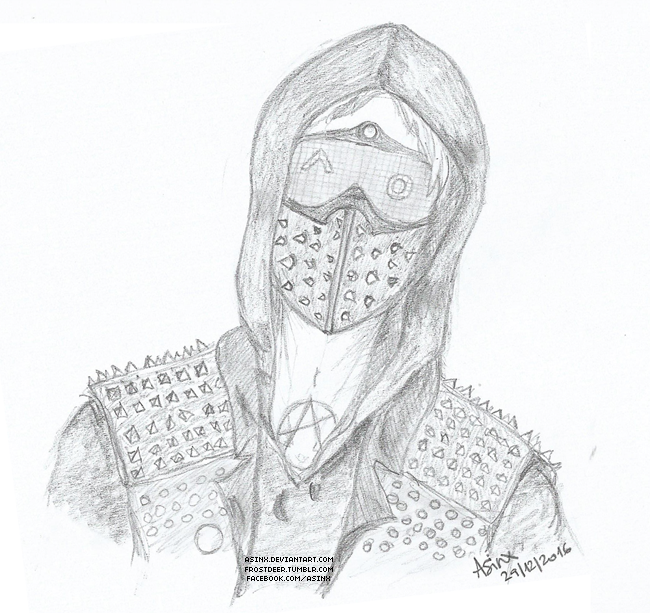 Watch Dogs 2 Coloring Pages Sketch