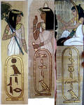 Papyrus bookmarks