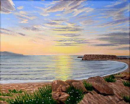 Empuries sunrise II