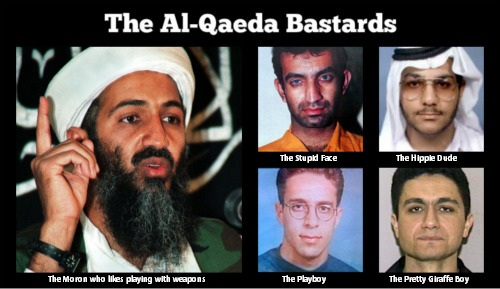 My Label on Some Al Qaeda Guys by SoulReaperlady