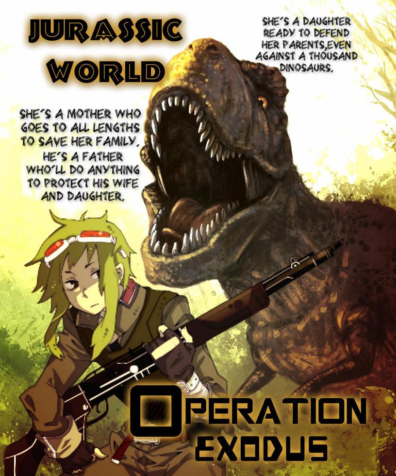 Jurassic World: Operation Exodus Teaser by SoulReaperlady