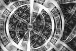 Spirals Spokes and Curves No. 3 by element90