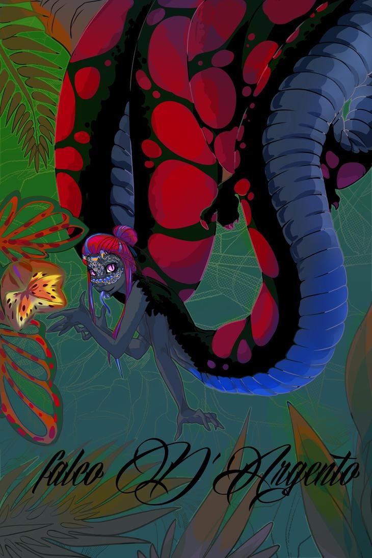 [OC] Tropical dragon by falcoDArgento