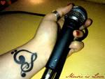 .Music is love.