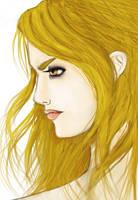 Rosalie Cullen colored by SuiGenerisX