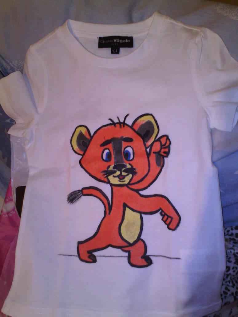DreamWorks Madagascar 2 Alex T-Shirt by DragonObrutTabor on