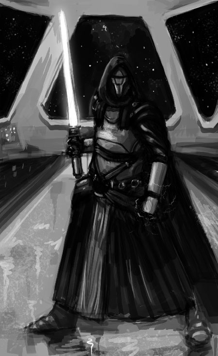 Darth Revan by BPezzillo