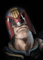 Judge Dredd by DanJackota