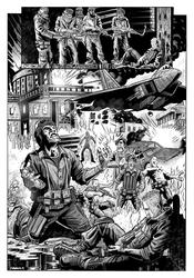 Soldiers Guilt Splash Page by DanJackota