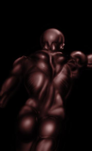 Study from Burne Hogarths dynamic anatomy by ZeroLiver