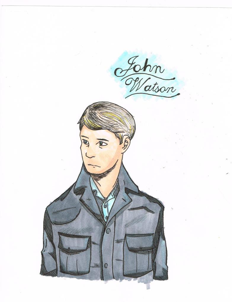 John Watson by TheAnimeAddiction