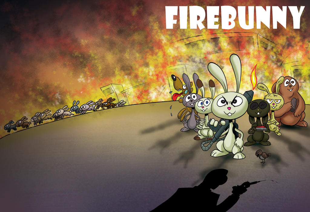 Firebunny by torrete