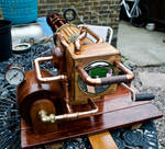 Steampunk gatling gun 1 by steampunk-willy64
