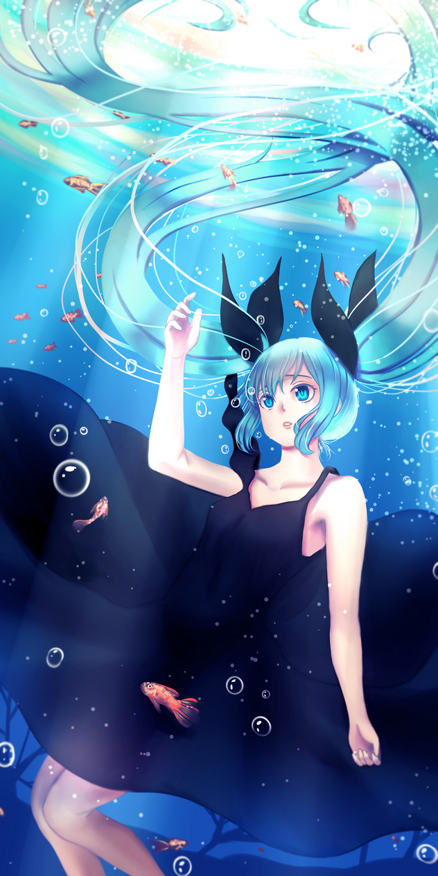Deep sea girl by vuongdieu