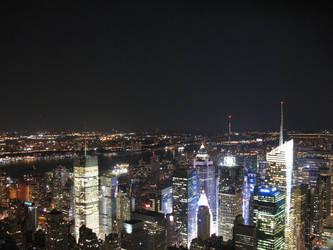 NYC Skyline by SpacegirlSpiff
