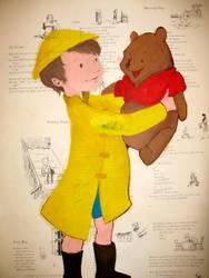Winnie and Christopher Robin by SpacegirlSpiff