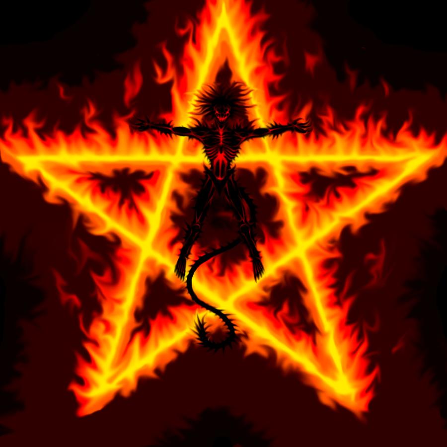 Fire Demon II by Trollfeetwalker