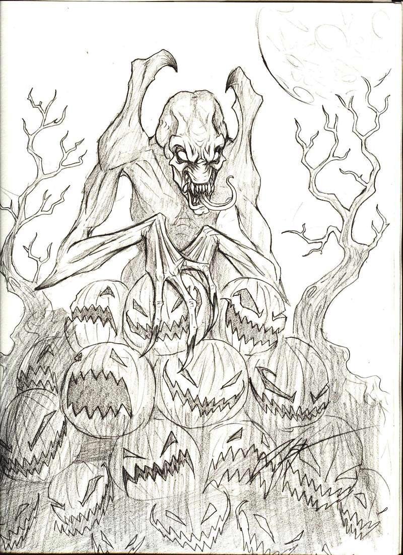 Pumpkinhead by Trollfeetwalker on DeviantArt
