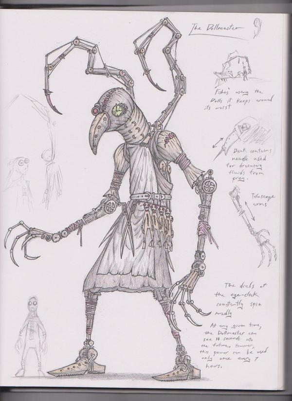 The Dollmaster by Trollfeetwalker