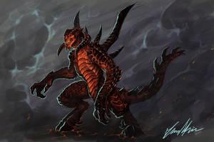 Diablo sketch by Trollfeetwalker