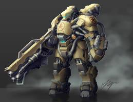 Heavy Armor by Trollfeetwalker