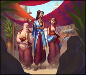 Sabetha and Company by Trollfeetwalker