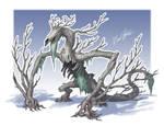Smaugust: Forest by Trollfeetwalker