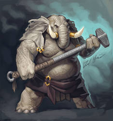 Sketchtember: Elephant