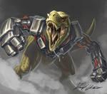 Sketchtember: Dinomight