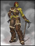 Half-Orc Fighter