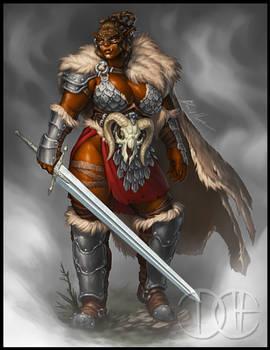 Ulla, Half-Orc Barbarian