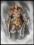 Knott, Half-Orc Barbarian