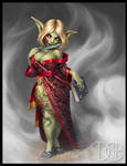 Gettlewaithe, Goblin Sorceress