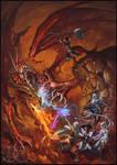 Dracolich Battle
