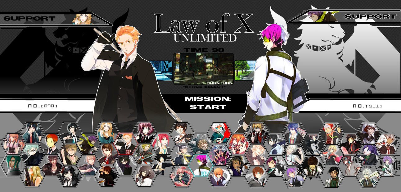Event: Law of X Unlimited by koupan