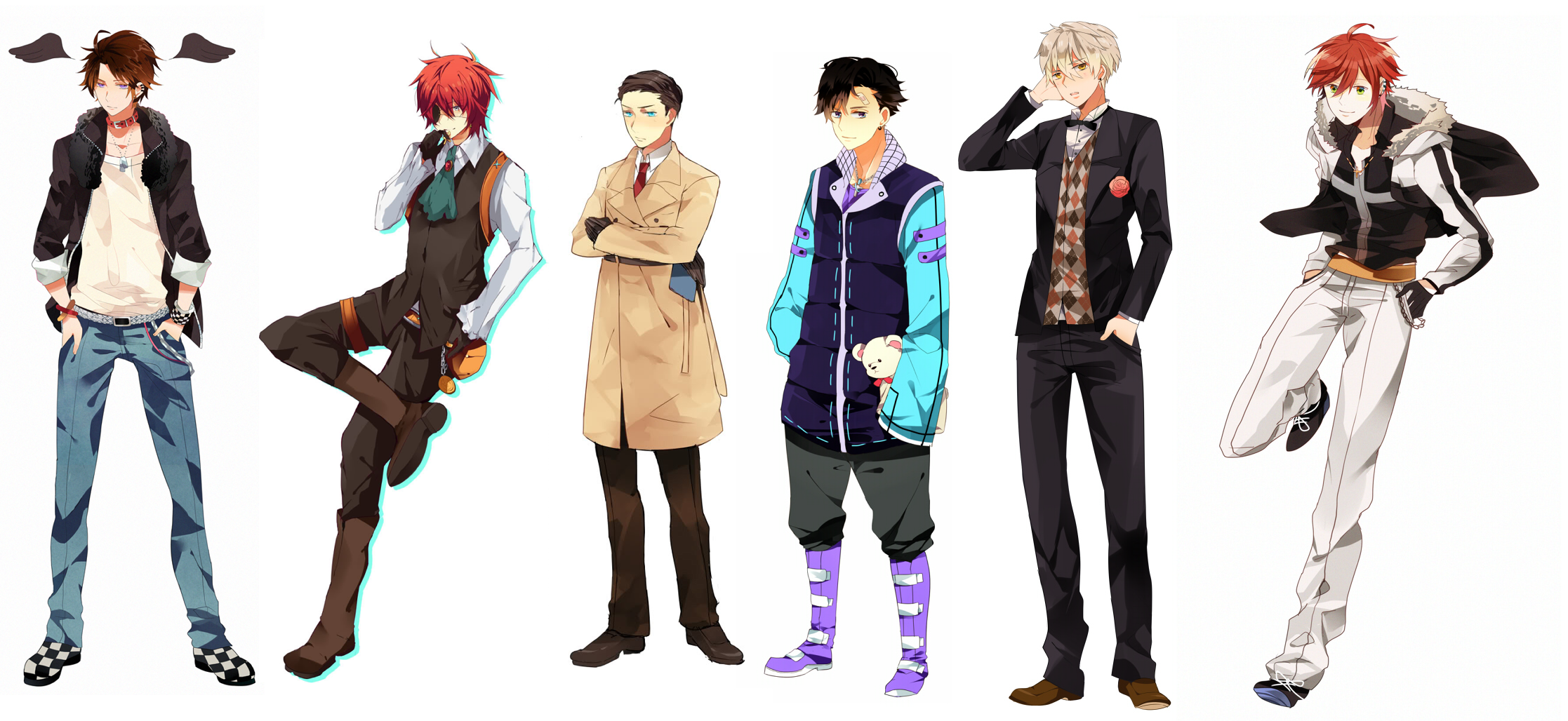 anime male clothes - HD2234×1028