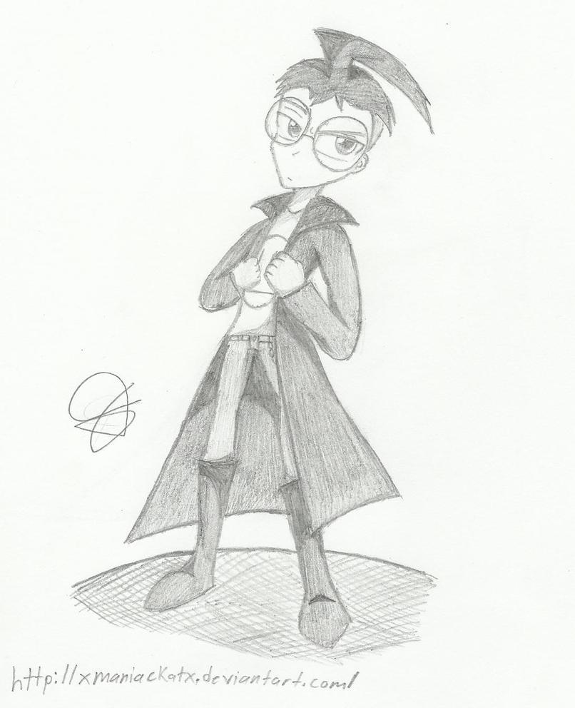 Anime Dib Sketch by xMANIACKATx