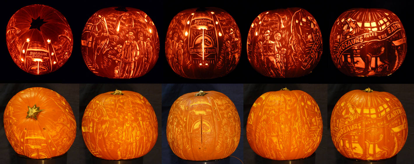 Jurassic Pumpkin (contest) by A--Anthony