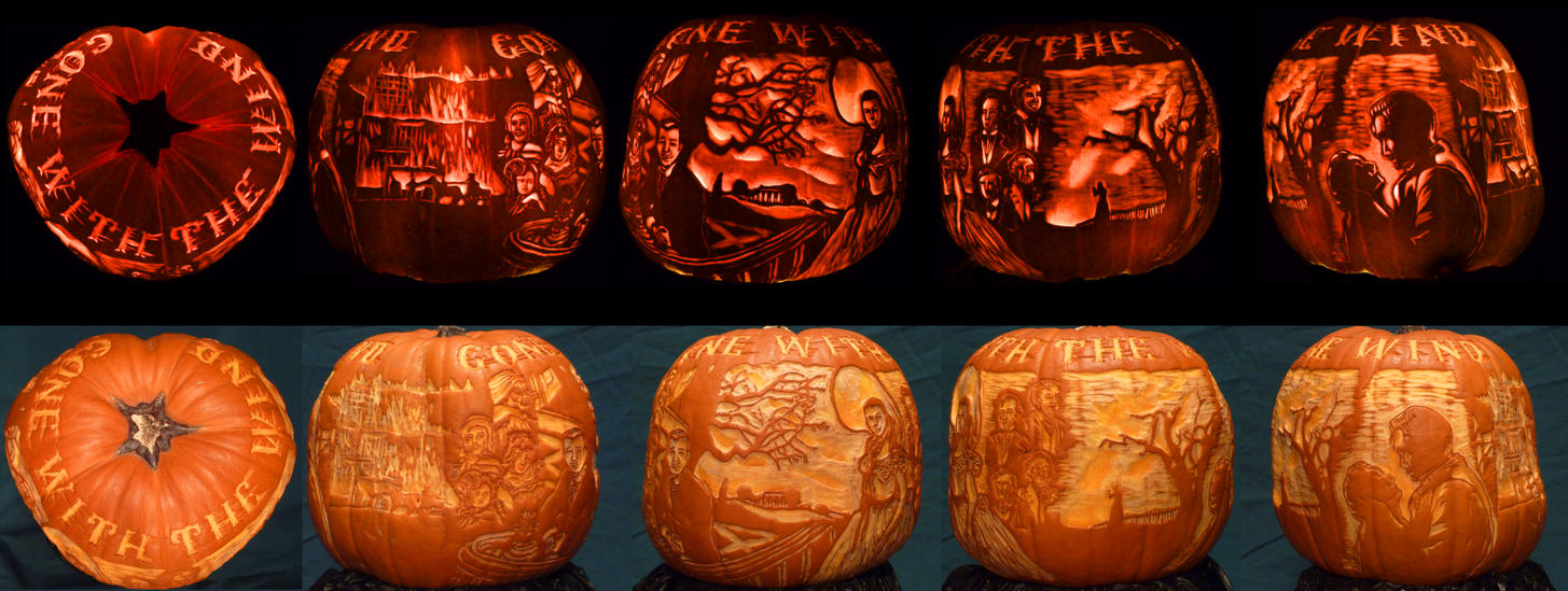 Gone With The Pumpkin (contest) by A--Anthony
