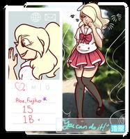 IH: Fujiko Abe (Blondie) by LoulabeIIe